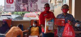 Warga Payung Sumbang 96 Kantong Darah ke PMI Basel, Pendonor Terima Beras